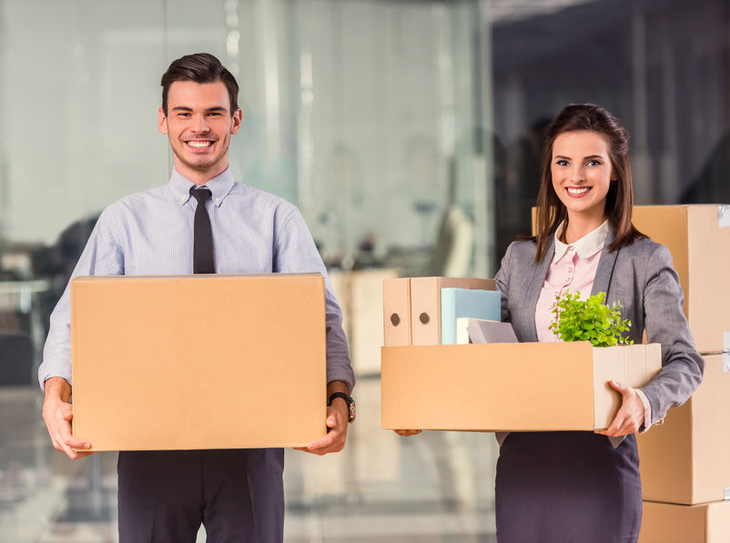 Office move Hamburg