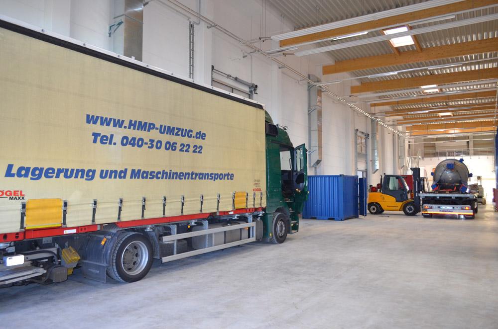 Industrieumzug Hamburg