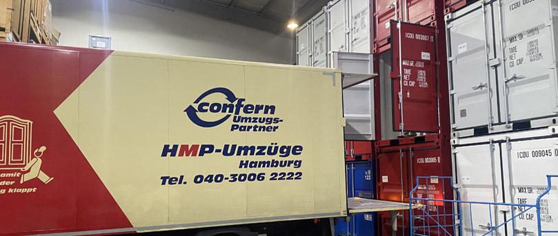 Furniture storage with HMP