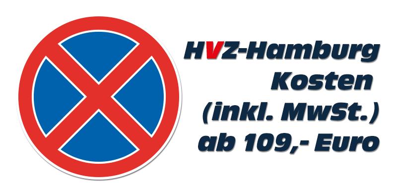 Halteverbotszone Hamburg 99,- Euro